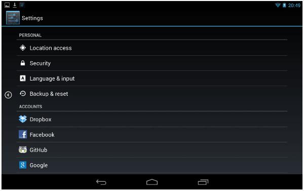 Kodi en Android
