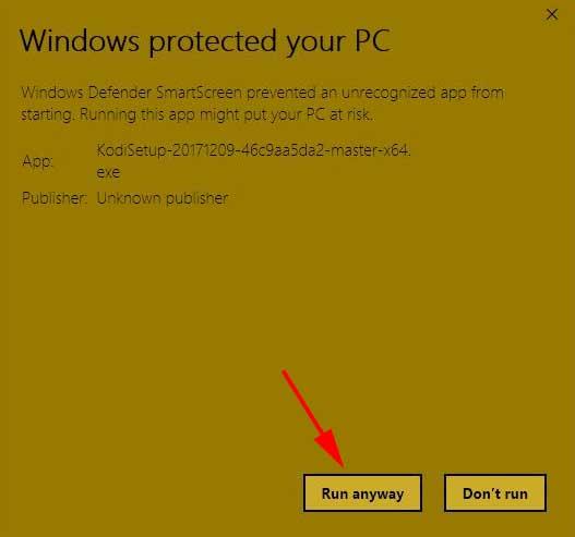Instalar Kodi en Windows